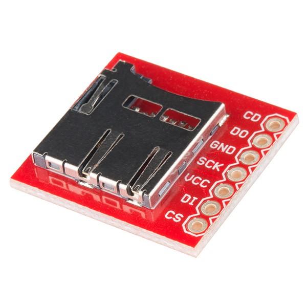 MicroSD card reader module - SparkFun*