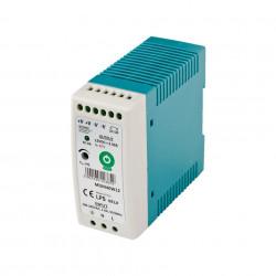 Zasilacz MDIN40W24 na szynę DIN - 24V / 1,7A / 40W