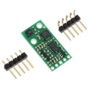 Moduł AltIMU-10 to 3-osiowy akcelerometr, 3-osiowy magnetometr, 3-osiowy żyroskop oraz barometr