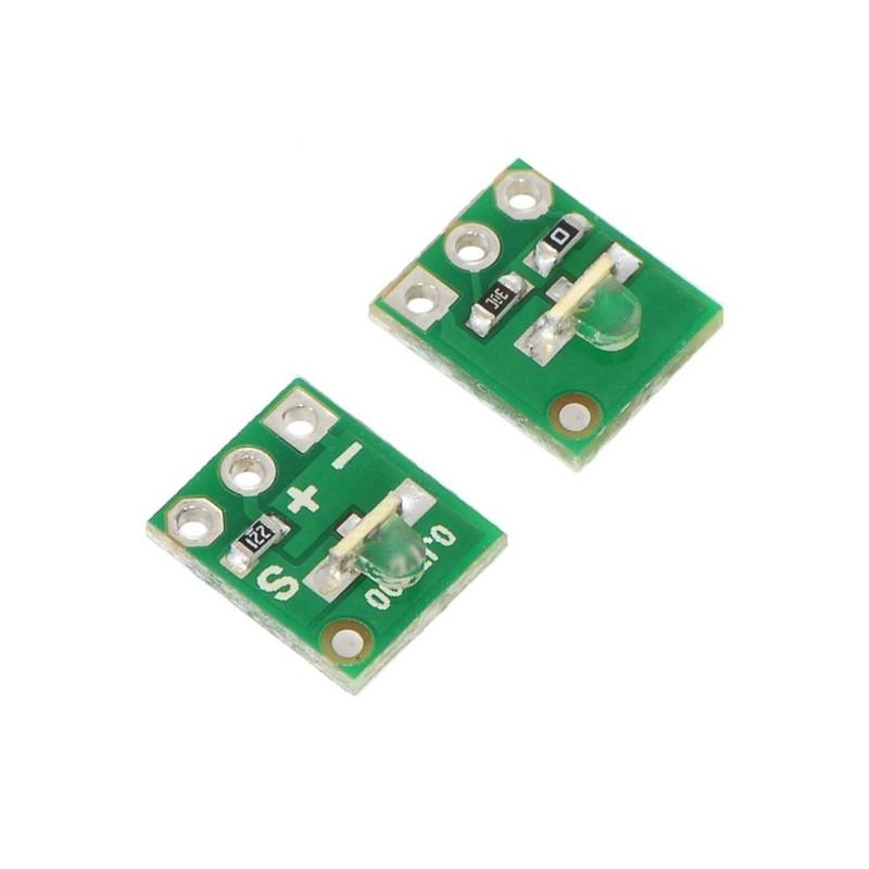 QTR-L-1A - czujnik odbiciowy - analogowy 2szt. - Pololu 2454