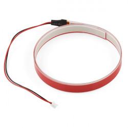 SparkFun EL Tape - taśma elektroluminescencyjna - czerwona - 1m