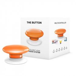 Fibaro Button - przycisk automatyki domowej - brązowy