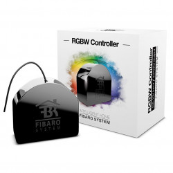 Fibaro RGBW Controller - sterownik LED RGBW 12-24V Z-Wave