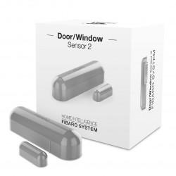 Fibaro Door/Window Sensor FGDW-002-2 - czujnik zbliżeniowy i temperatury Z-Wave - szary