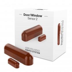 Fibaro Door/Window Sensor FGDW-002-5 - czujnik zbliżeniowy i temperatury Z-Wave - pomarańczowy