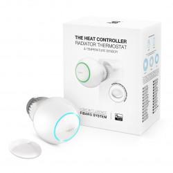 Fibaro Heat Controller Starter Pack - inteligentna głowica termostatyczna Z-Wave + czujnik temperatury
