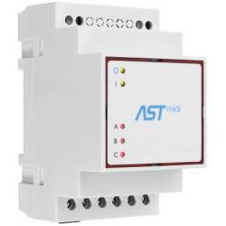 ASTmidi GPS - zegar astronomiczny na szynę DIN z GPS - 3 x wyjście 230V / 5A + wewnętrzna antena