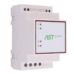 ASTgarden - sterownik oświetlenia ogrodu na szynę DIN - 2 x wyjście 230V / 5A