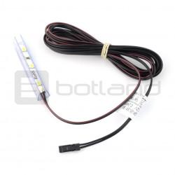 Oświetlenie LED do półek NSP-50, 3diody, biały-zimny - 12V / 0.24W