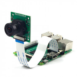 Kamera ArduCam Sony NOIR IMX219 8MPx CS mount z obiektywem LS-1820 - dla Raspberry Pi