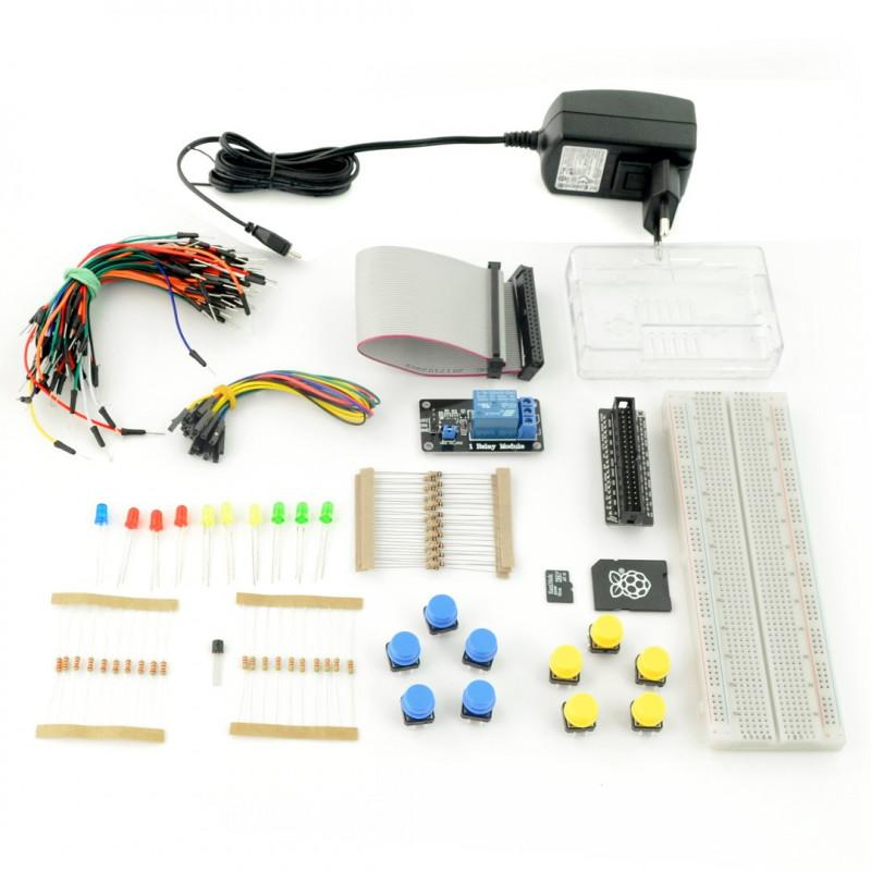 ProtoPi StarterKit - zestaw prototypowy dla Raspberry Pi 3B+/3B/2B