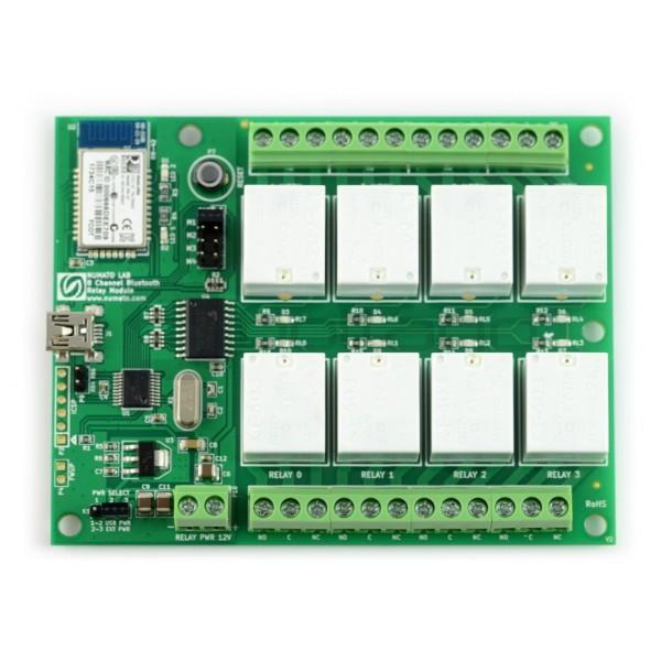 Numato Lab 8 Channel Relay Module 12v 7a Electronic