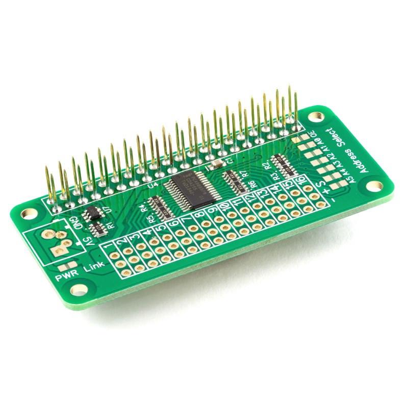 16 Ch 12 Bit PWM Servo Driver I2C PCA9685 LED Raspberry Pi