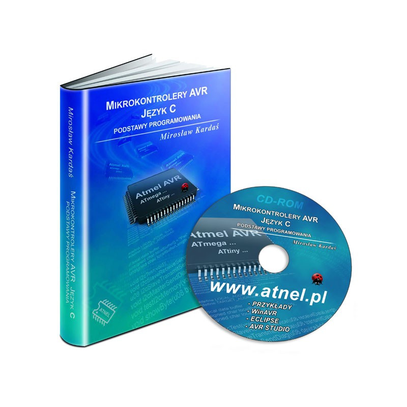 AVR microcontrollers. C language. Fundamentals of programming - M. Kardaś