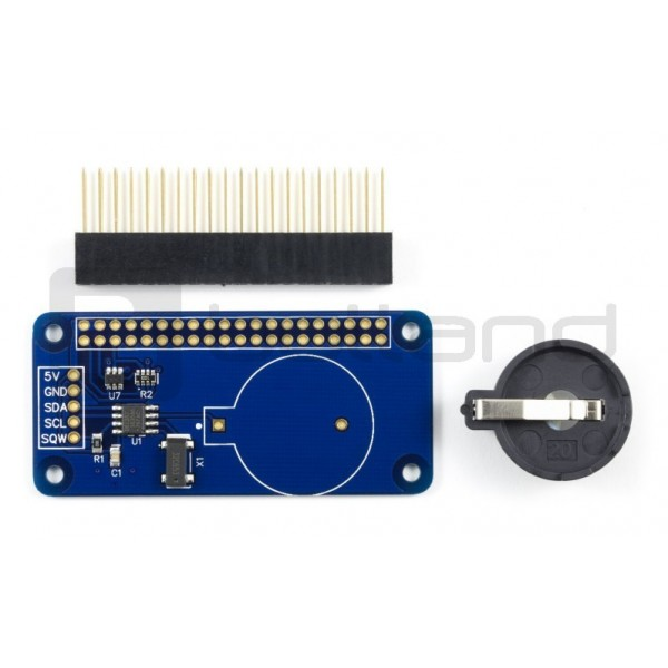 RTC Pi DS1307 - RTC real time clock overlay for Raspberry Pi*