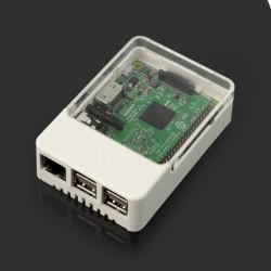 Obudowa Raspberry Pi Model 3B+/3B/2B Style Enclosure - biała