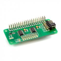 ADC Differential Pi - MCP3424 - 8-kanałowy przetwornik A/C