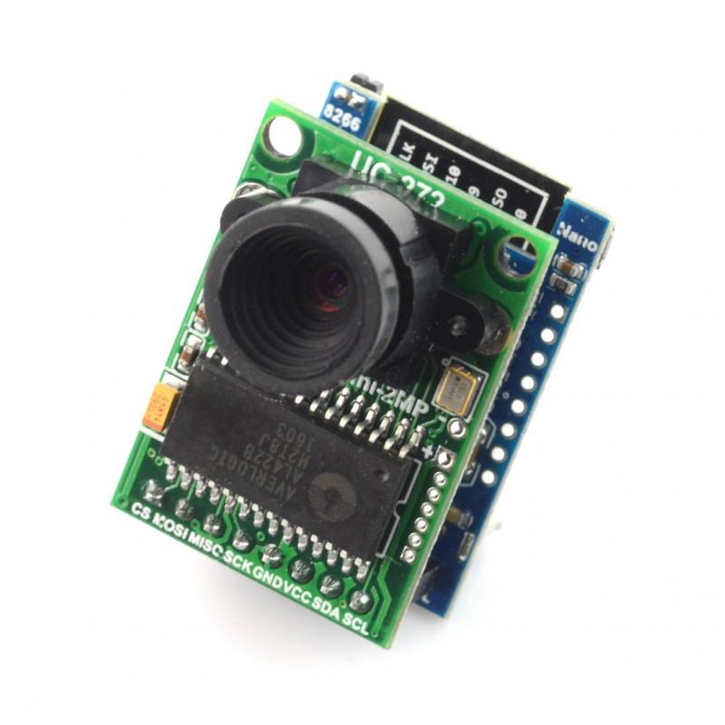 Camera ArduCam OV2640 2MPx + WiFi ESP8266 module*