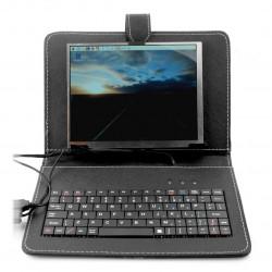 Ekran LCD IPS 8'' 1024x768px dla Raspberry Pi 3/2/B+ - etui+klawiatura+mysz+zasilacz