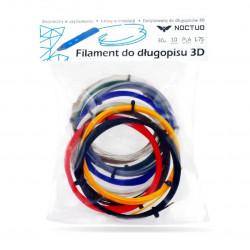 Wkłady do długopisu 3D - PLA 1,75m - 10szt.