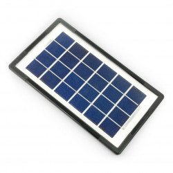 Ogniwo słoneczne 3W / 6V w ramce 255x145x9mm