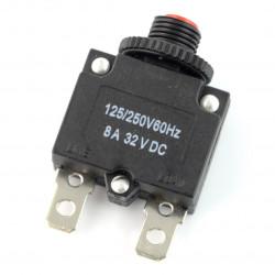 Wyłącznik nadprądowy - termobimetaliczny MR1 8A