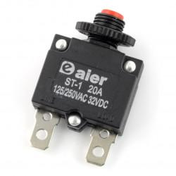 Wyłącznik nadprądowy - termobimetaliczny MR1 20A