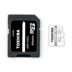 Karta pamięci Toshiba Exceria micro SD / SDHC 32GB UHS-I klasa 3 z adapterem