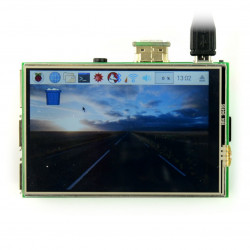 """Resistive touch screen TFT LCD display of 3.5"""" 480x320px for Raspberry Pi 3B/3/2"""