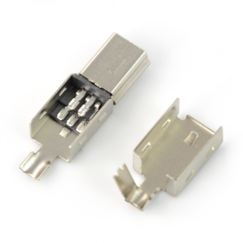 B type miniUSB plug for cable