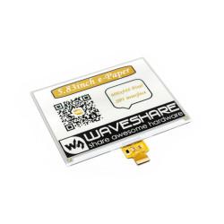 Waveshare E-paper E-Ink (C) 5,83'' 600x448px - wyświetlacz trójkolorowy z nakładką HAT dla Raspberry Pi