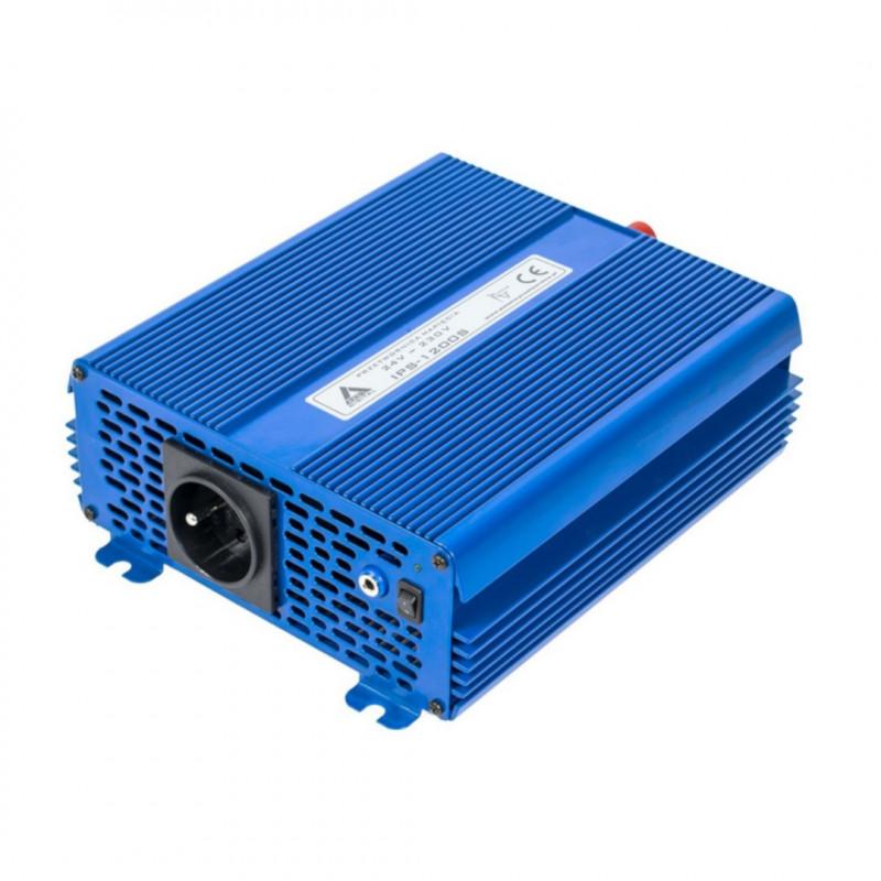 Przetwornica DC/AC step-up AZO Digital IPS-1200S 24/230V 1200W