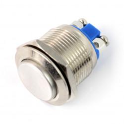 Przełącznik ON-OFF monostabilny - PBW-19BS - 2A/250V wystający