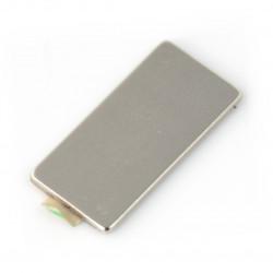 Magnes neodymowy prostokątny z klejem - 20x10x1mm