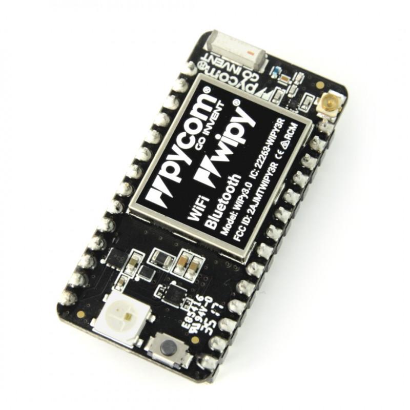 WiPy 3 0 IoT ESP32- WiFi module, Bluetooth BLE + Python API_
