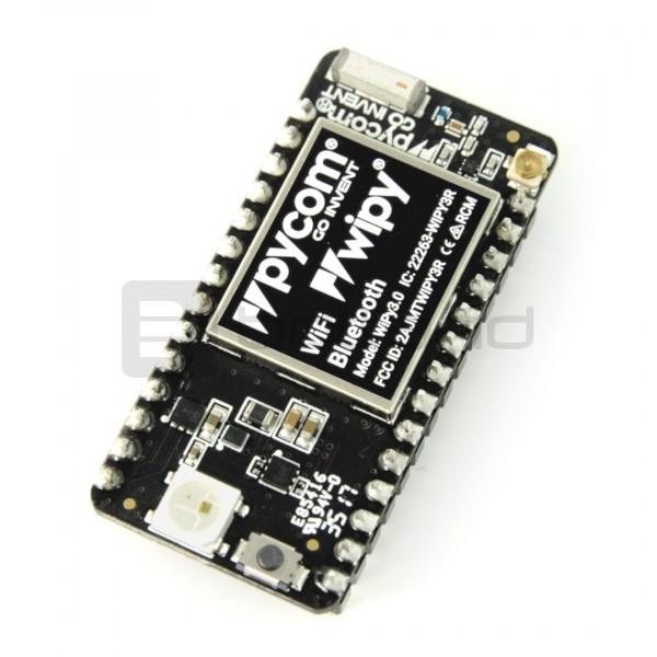 WiPy 3 0 IoT ESP32- moduł WiFi, Bluetooth BLE + Python API