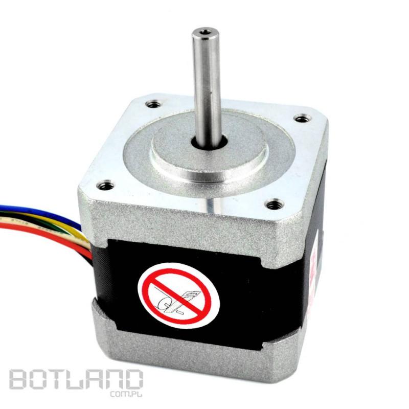 Silnik krokowy 42BYGH102U 200 kroków/obr 3,6 V / 1,2 A / 0,30 Nm