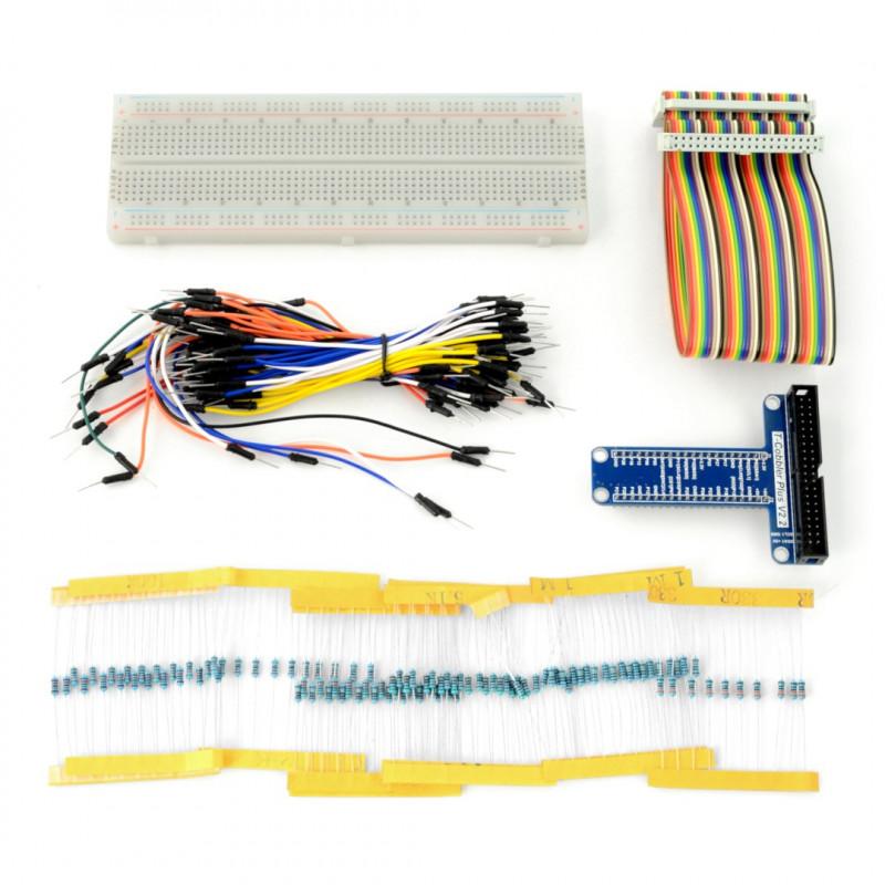 Zestaw prototypowy ProtoKit dla Raspberry Pi 3B+/3B/2B