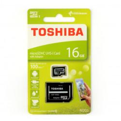 Karta pamięci Toshiba Exceria micro SD / SDHC 16GB UHS 1 klasa 10 z adapterem
