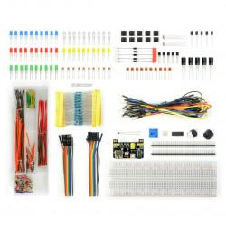 Zestaw elementów elektronicznych - E23 dla Arduino - 830 elementów