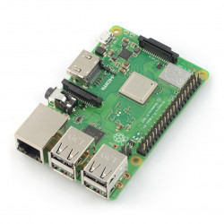 Raspberry Pi 3 model B+ WiFi Dual Band Bluetooth 1GB RAM 1,4GHz