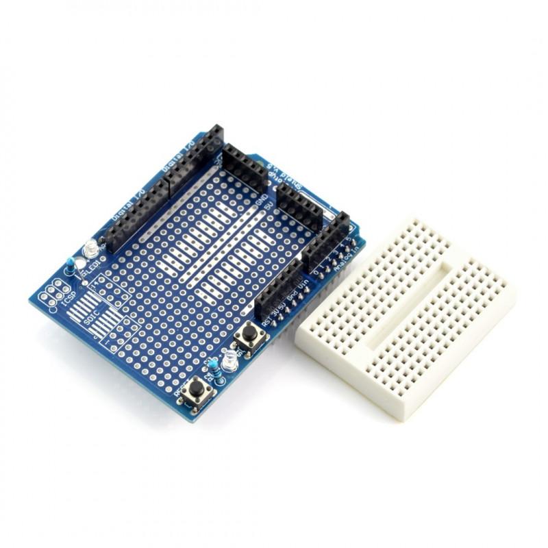 Proto Shield dla Arduino + płytka stykowa 170 otworów