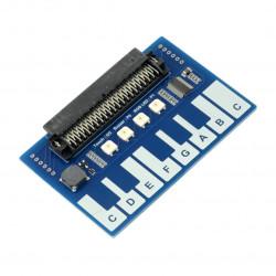 Mini Piano dla Micro:bit - moduł z przyciskami dotykowymi