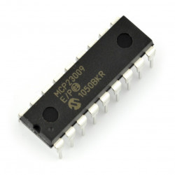 MCP23009-E/P - 8-Bit I/O Expander with Open-Drain Outputs