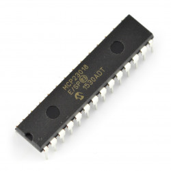 MCP23018-E/SP - 16-Bit I/O Expander with Open-Drain Outputs