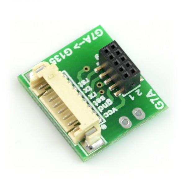 Czujnik pyłu / czystości powietrza PM1 0 / PM2 5 / PM10 - PMS7003 - 3,3V  UART