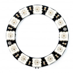 LED Ring RGB WS2812 5050 x 12 diod - 38mm