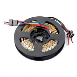 Pasek LED RGB WS2813 - cyfrowy, adresowany - 144 LED/m, 18W/m, 5V - 5m