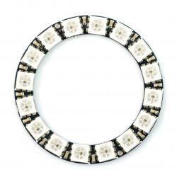 LED Ring RGB WS2812 5050 x 16 diod - 44mm