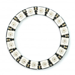Pierścień LED RGB WS2812 5050 x 16 diod - 44mm